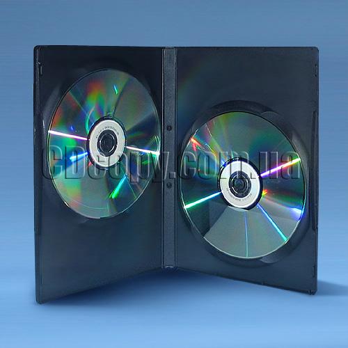 Коробка DVD на два диска